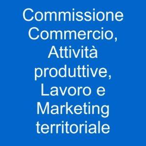 pulsante commissione commercio