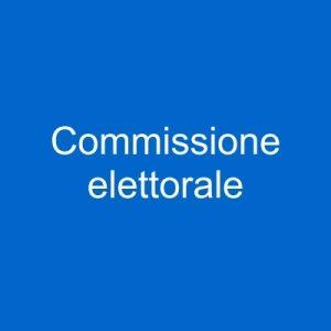 pulsante commissione elettorale