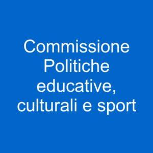 pulsante commissione educazione